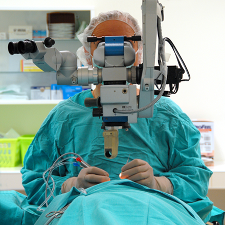 Operacje okulistyczne