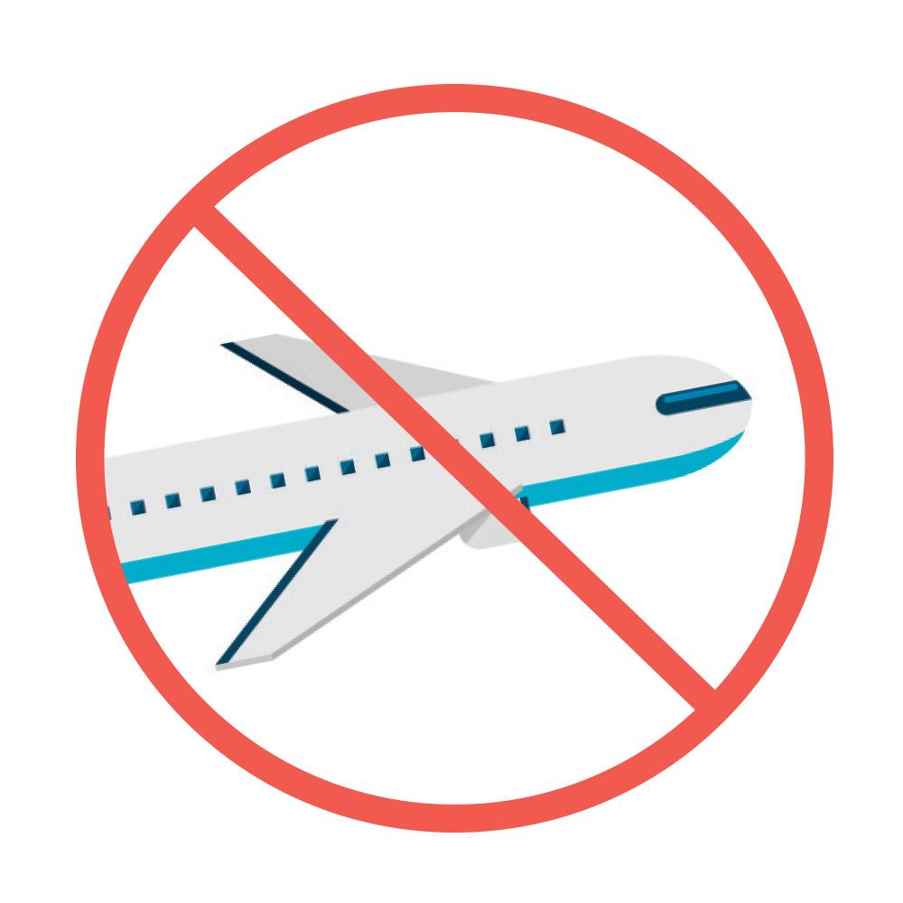 zalecenia pooperacyjne -podróż samolotem