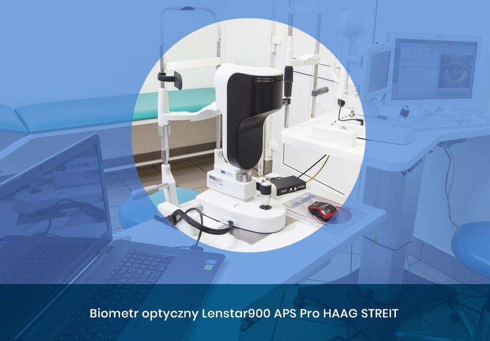 Biometr optyczny Lenstar900 APS Pro HAAG STREIT