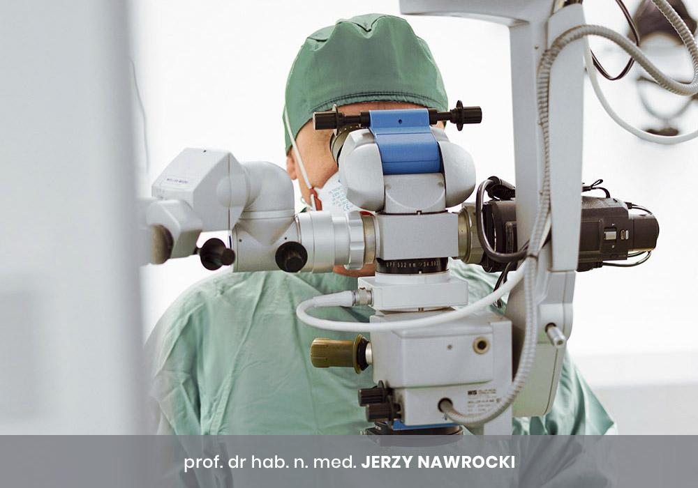 prof. dr hab. n. med. JERZY NAWROCKI