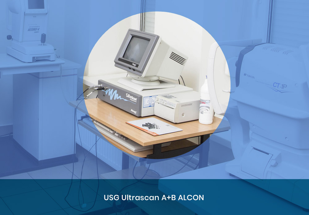 Aparat USG Ultrascan A+B ALCON