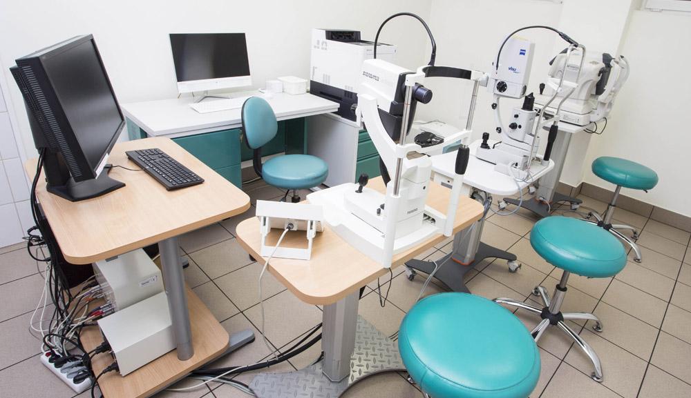 aparatura do badań okulistycznych 2