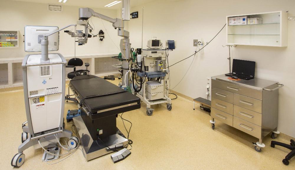 sala operacyjna Klinika Okulistyczna 2