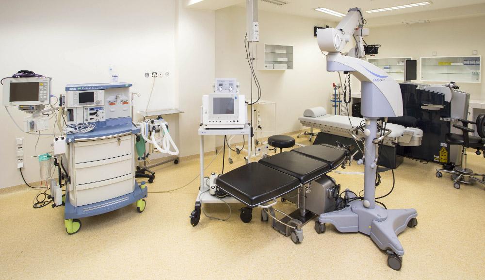 sala operacyjna Klinika Okulistyczna