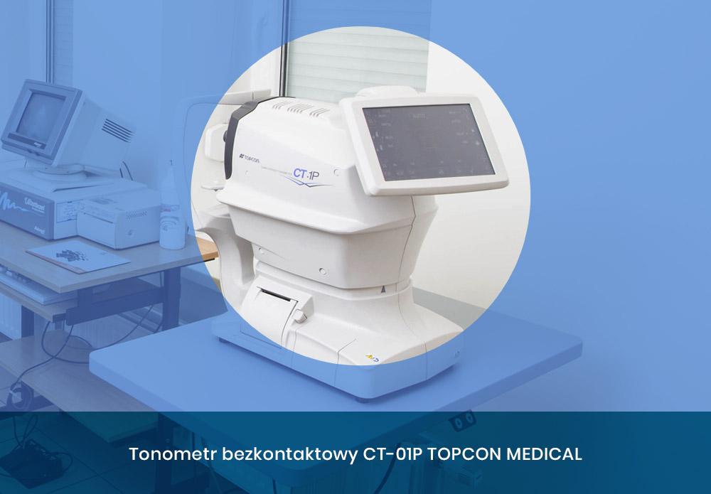 Tonometr bezkontaktowy CT 01P TOPCON MEDICAL